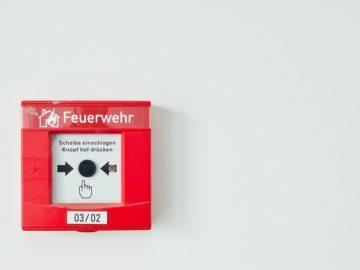 Brandmelder Feuermelder Rauchmelder