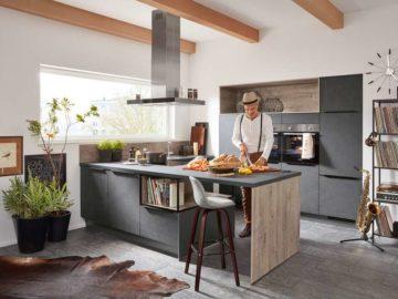 Modernes Küchendesign verbunden mit innovativer Technik