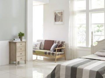 Schlafzimmer ohne Kunststoff