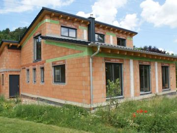 Hybride Gebäudehülle
