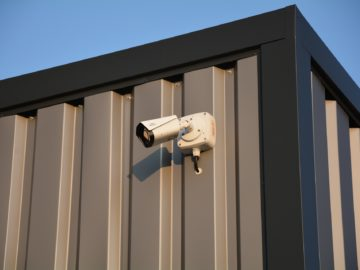 Videokameras auf Baustellen